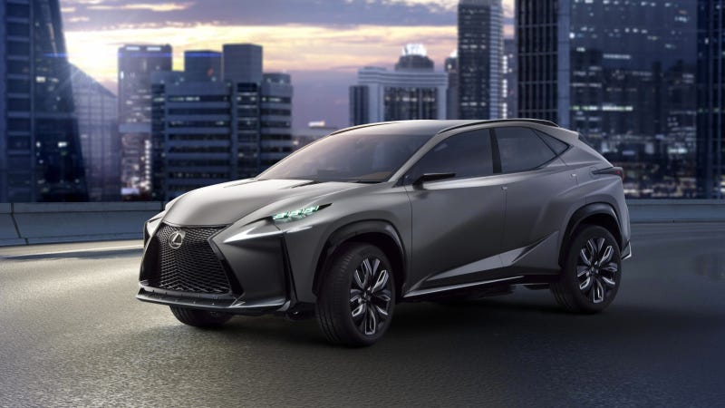 Illustration for article titled The Lexus LF-NX Concept Gets The Turbo Four The IS Needs Now