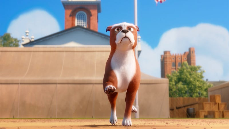 Illustration for article titled Been wanting to show your 6-year-old a movie about World War I? Meet Sgt. Stubby!