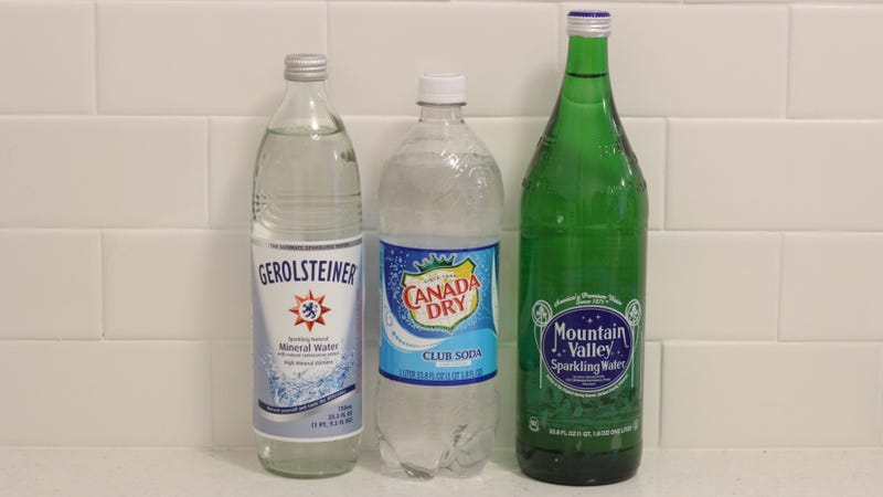 Illustration for article titled The Difference Between Club Soda, Seltzer and Sparkling Mineral Water