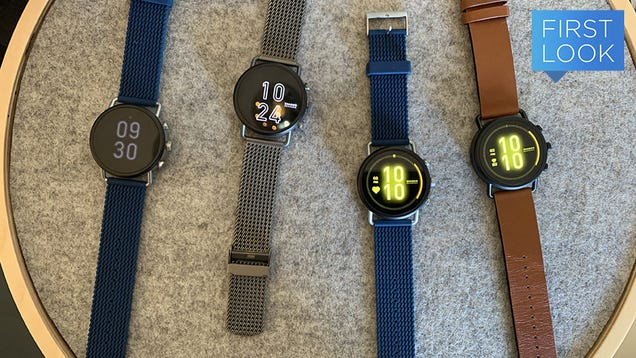 It s Not CES Without Yet Another Million Fossil Smartwatches
