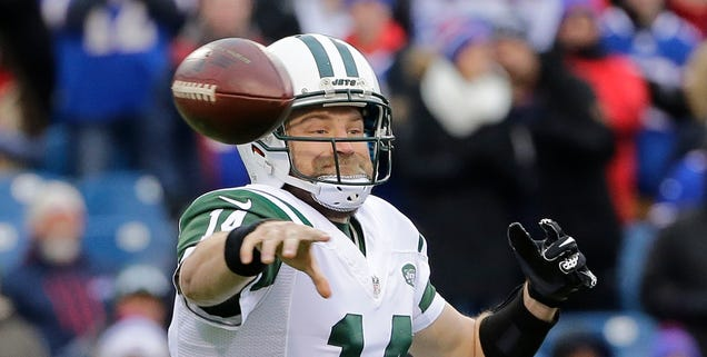 Ryan Fitzpatrick's Standoff With The Jets Is Getting Dire