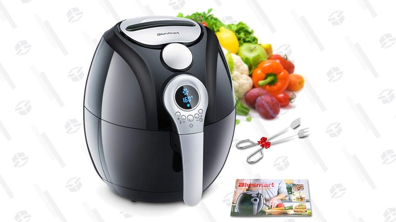 Blusmart 3.4 qt. Air Fryer | $58 | Amazon | Clip the 25% coupon and use code Y258A6LT