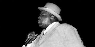 The Notorious B.I.G. (David Corio/Getty Images)