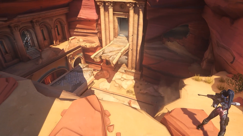 Illustration for article titled Overwatch's New Map Is A Brawl In A Hidden City