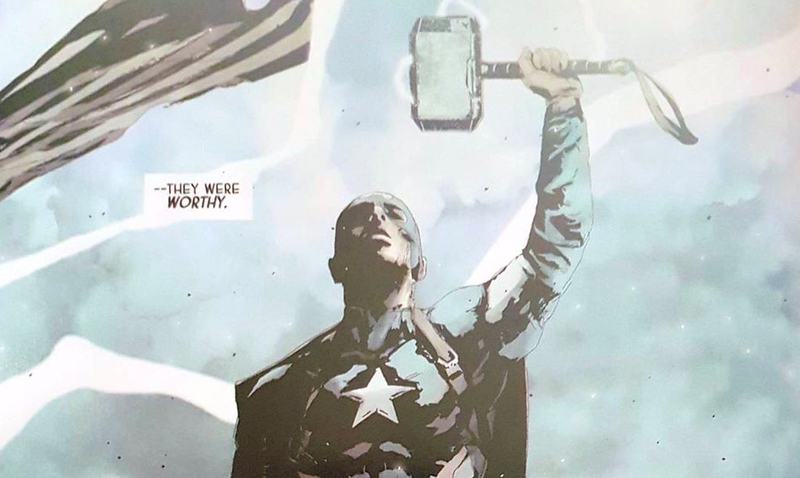 How the Hell Is Steve Rogers, the Supreme Leader of Hydra, Wielding Thor's Hammer?