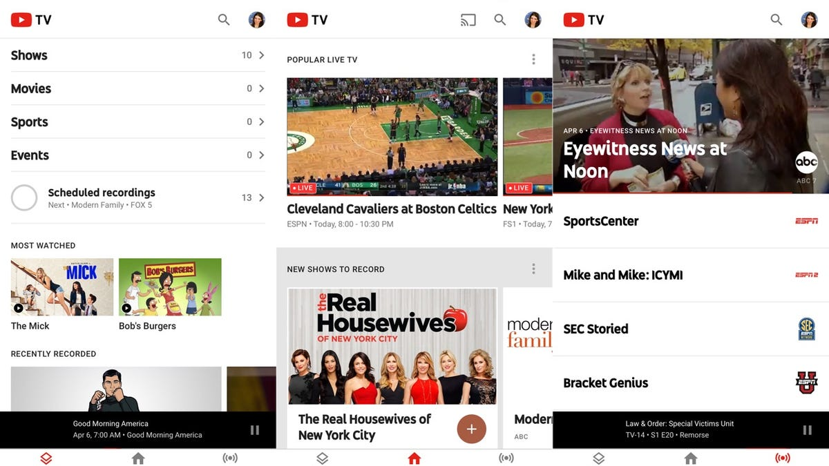 YouTube TV Isn't Perfect, But It's Very Promising
