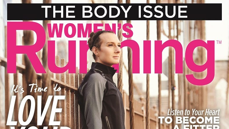 Illustration for article titled A Transgender Runner Is Featured on the Cover of Women's RunningMagazine