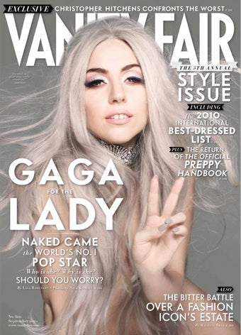Illustration for article titled Lady Gaga Reinvents Herself Yet Again On The Cover Of Vanity Fair