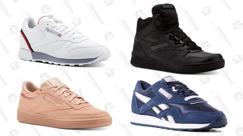 40% Off Classics Shoes | Reebok | Promo code CLASSIC40