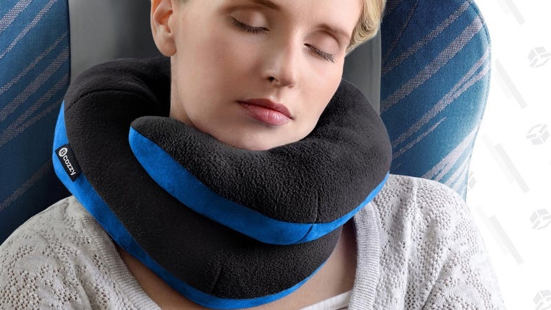 BCOZZY Travel Pillow   $24   Amazon   Promo code 1234kinja. Code takes 20% off entire catalog: More fabric options here.