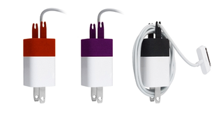 Illustration for article titled The Wrap Is a Cable Organizer for Your iPhone Charger
