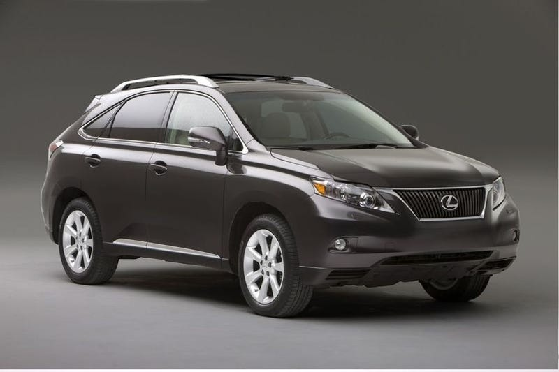 2010 lexus rx 350 and rx 450h push bland to new heights. Black Bedroom Furniture Sets. Home Design Ideas