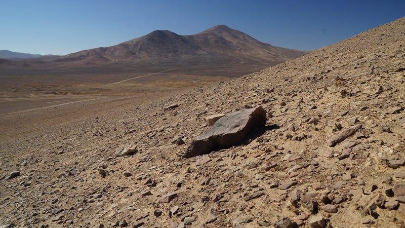 The Atacama Desert.