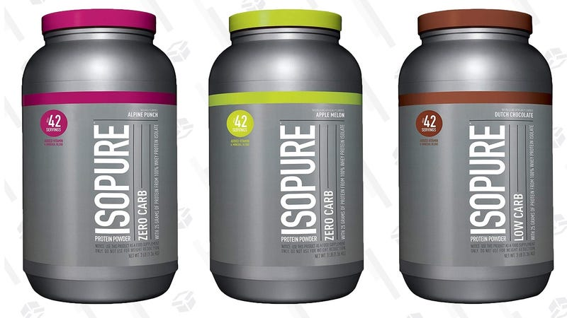 Isopure Protein Powder Gold Box | Amazon