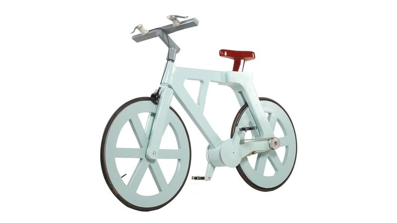Illustration for article titled A Bike This Cool Can't Possibly Be Made From Cardboard (or Cost $10 to Make)