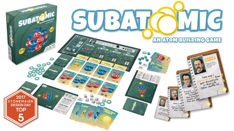 Subatomic: An Atom Building Board Game | Kickstarter