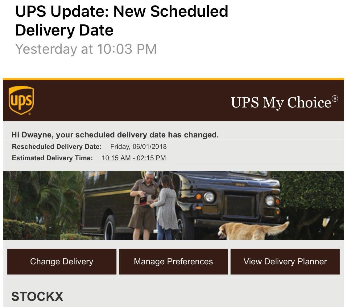 Dear UPS: You Ain't Got to Lie, Craig