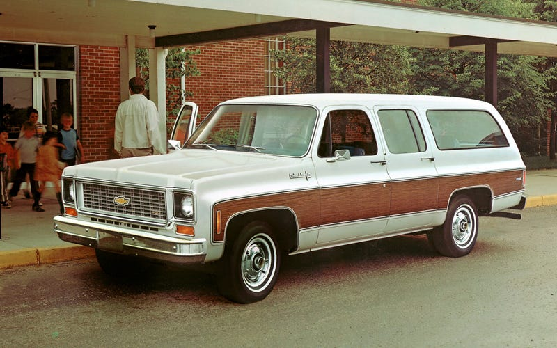 See The Chevy Suburban Grow Up In This Great Gallery Of Every