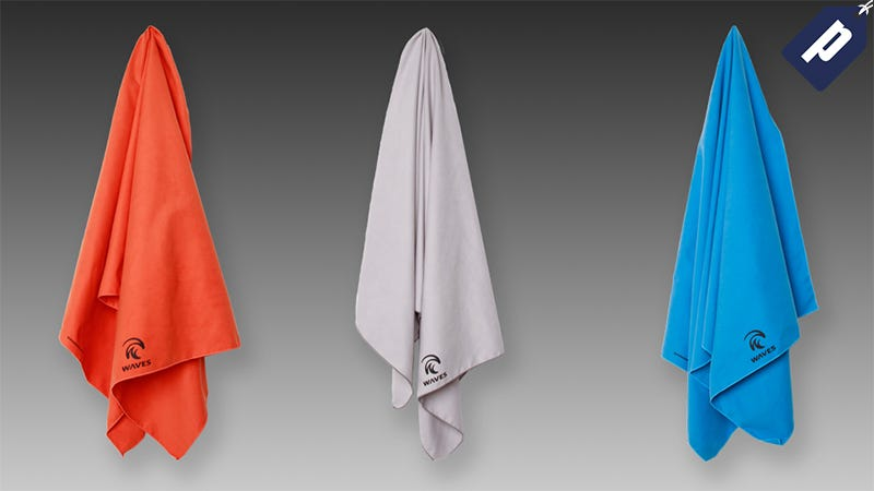 Illustration for article titled Get This Versatile + Compact Quick-Dry Micro-Fiber Towel (50% Off)