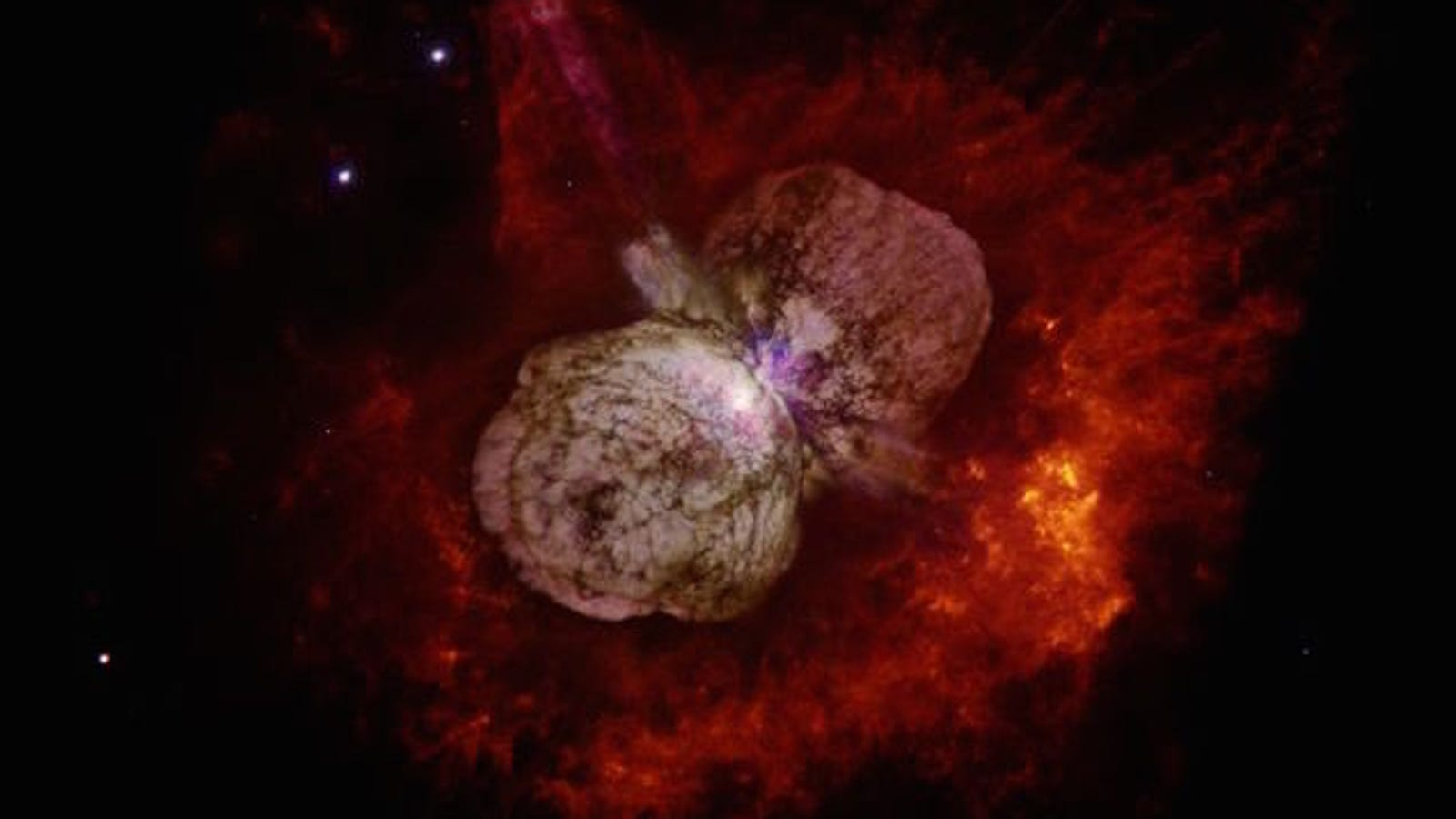 La NASA revela cómo es el asombroso interior de una estrella masiva