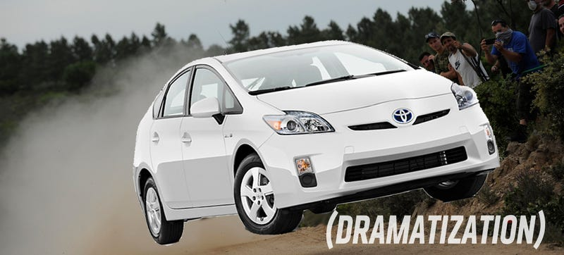 Illustration for article titled Next Prius Could Add AWD To Make Your Hybrid Rallying Dream Come True