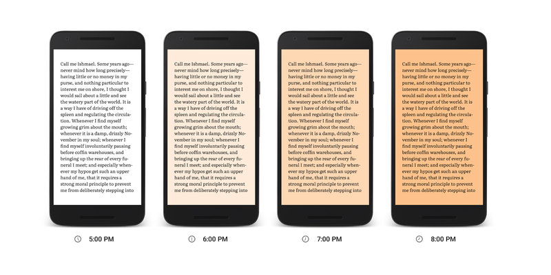 Illustration for article titled All Reading Apps Should Feature Play Books' New Light Filter