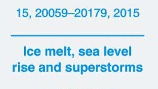Hansen et al 2015: 5 meters of sea level rise