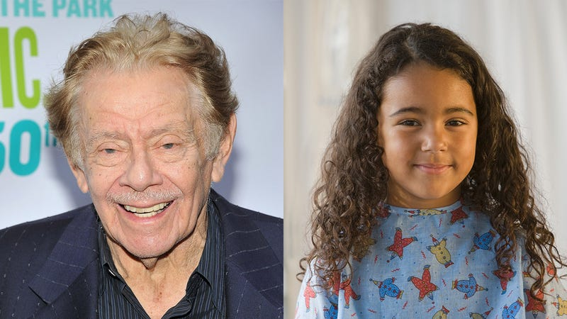 Illustration for article titled Beautiful: Jerry Stiller Called This Terminally Ill Child At 3 A.M. Last Night To Tell Her An Idea He Had For A New Type Of Sushi Roll