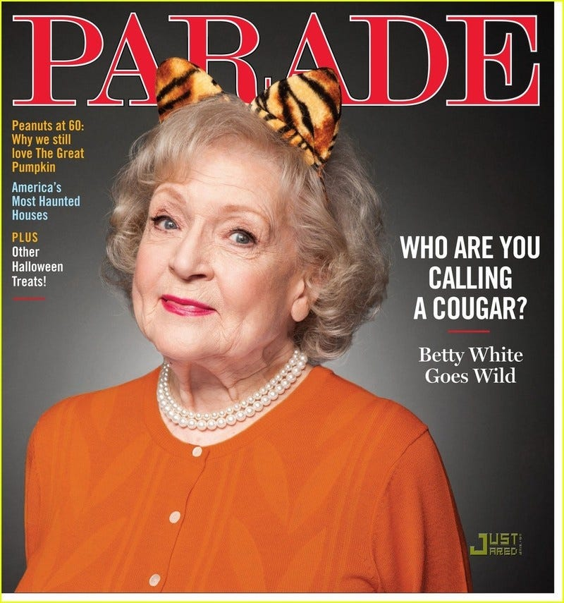 """Illustration for article titled Betty White Thinks Gay Marriage Is """"Fine"""""""