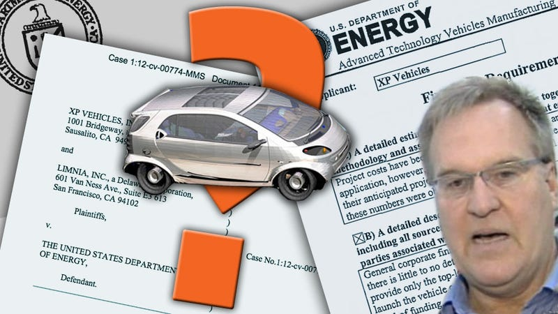 Illustration for article titled Meet The 'Inflatable Car' Inventor Suing The U.S. For $675 Million