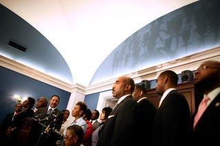 Illustration for article titled Black Lawmakers Adjust to Post-Inauguration Politics