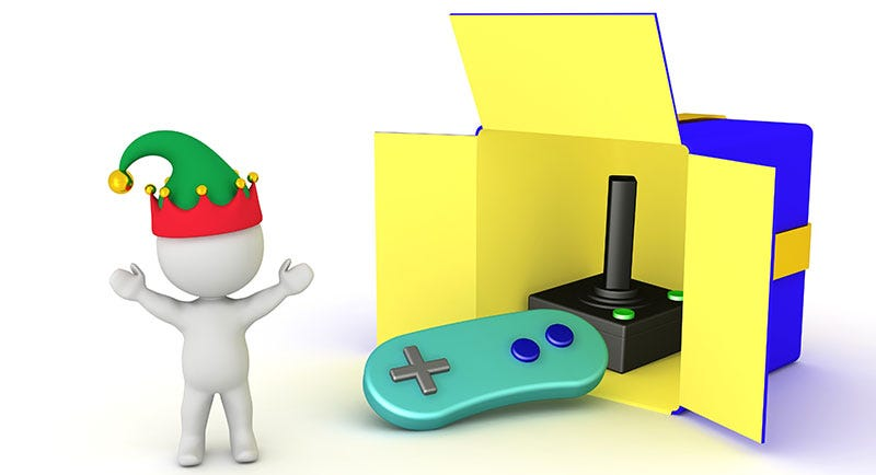 Illustration for article titled What's Your Dream Video Game Holiday Gift?