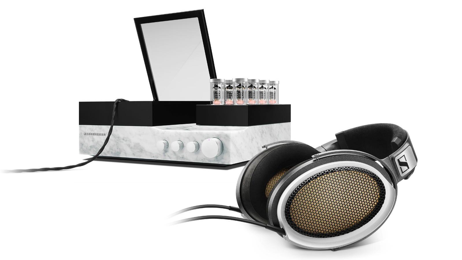 Válvulas de vacío y mármol italiano: los nuevos auriculares de Sennheiser cuestan $55.000