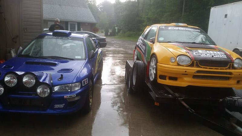 Illustration for article titled Coming to New England Forest Rally: