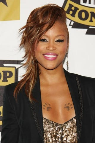 Eve at the 2008 VH1 Hip Hop Honors in New York City on Oct. 2, 2008Bryan Bedder/Getty Images