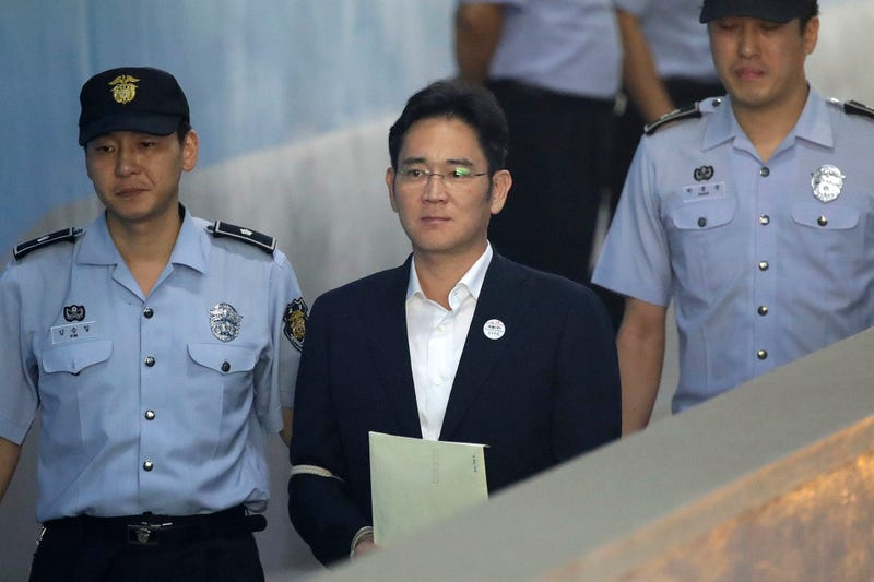 Heredero de Samsung condenado a cinco años de cárcel