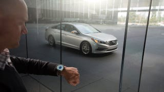 Illustration for article titled Hyundai's Smartwatch App Lets You Find, Start, And Unlock Your Car