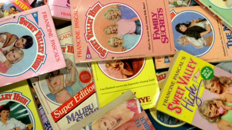 Illustration for article titled Sweet Valley High
