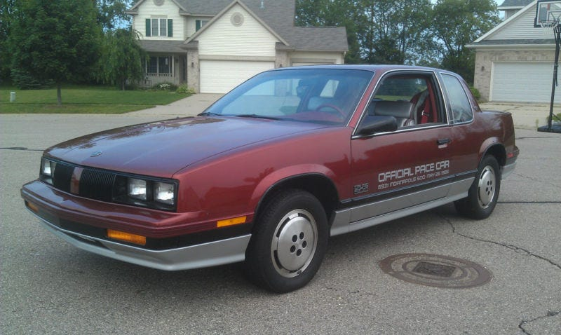 pacecar of the apocalypse 1985 oldsmobile calais. Black Bedroom Furniture Sets. Home Design Ideas