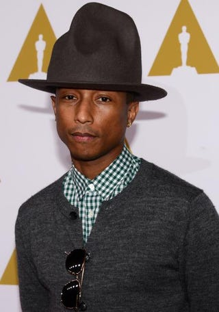 Pharrell WilliamsFREDERIC J. BROWN/AFP/Getty Images