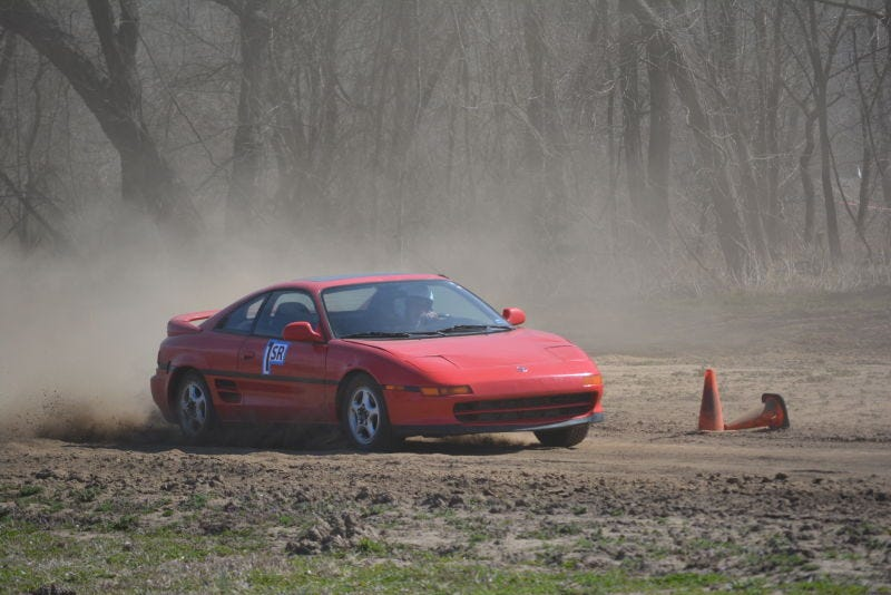 Pictured: Not my MR2 but you get the idea
