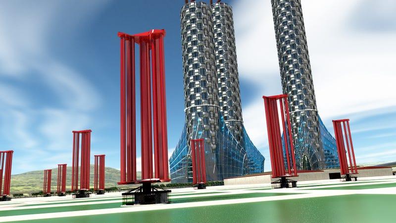 Estas turbinas eólicas podrían abastecer a Japón durante 50 años con la energía de un solo tifón