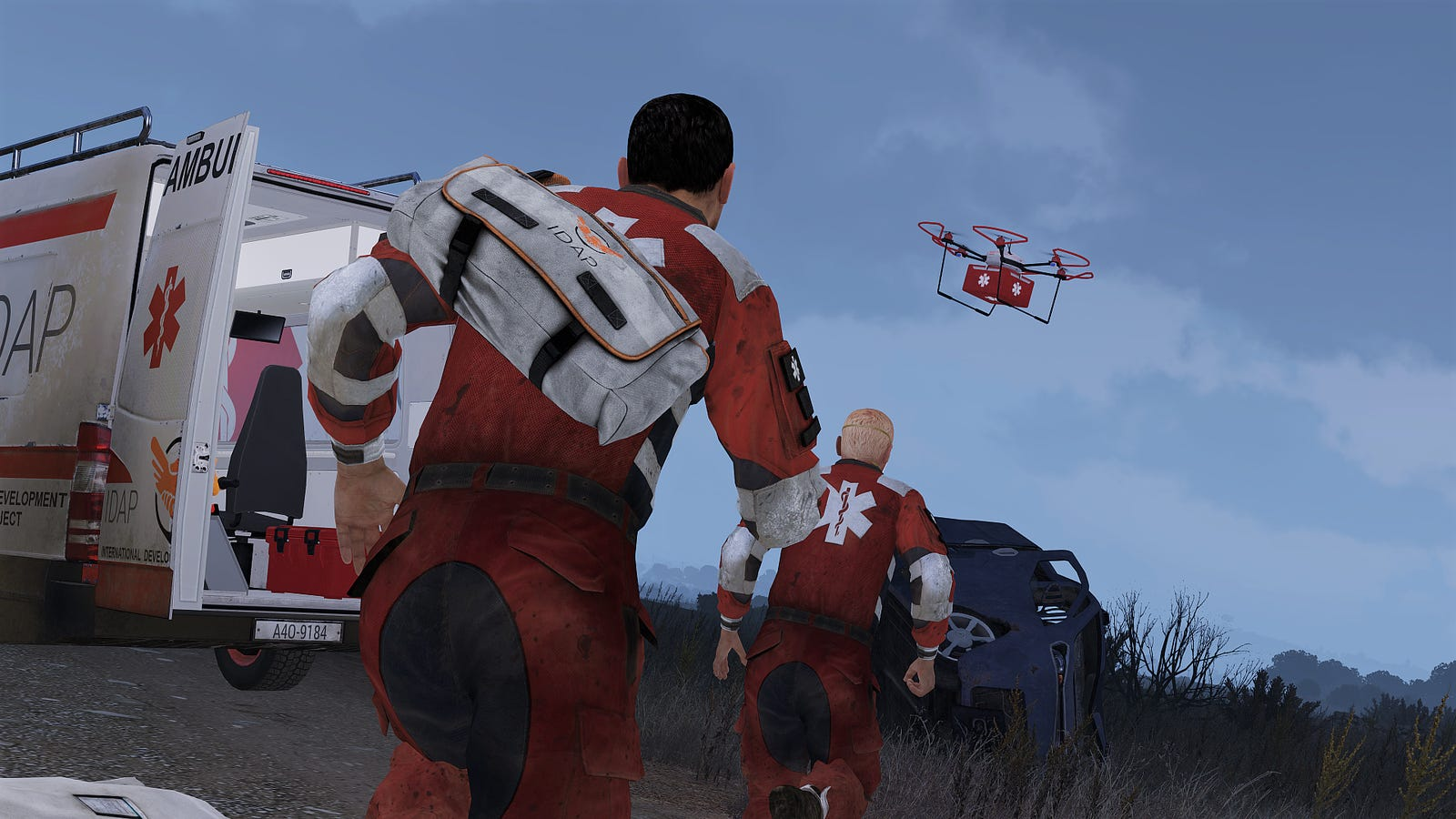 Arma Iii Dlc Will Let You Play As A Humanitarian Worker