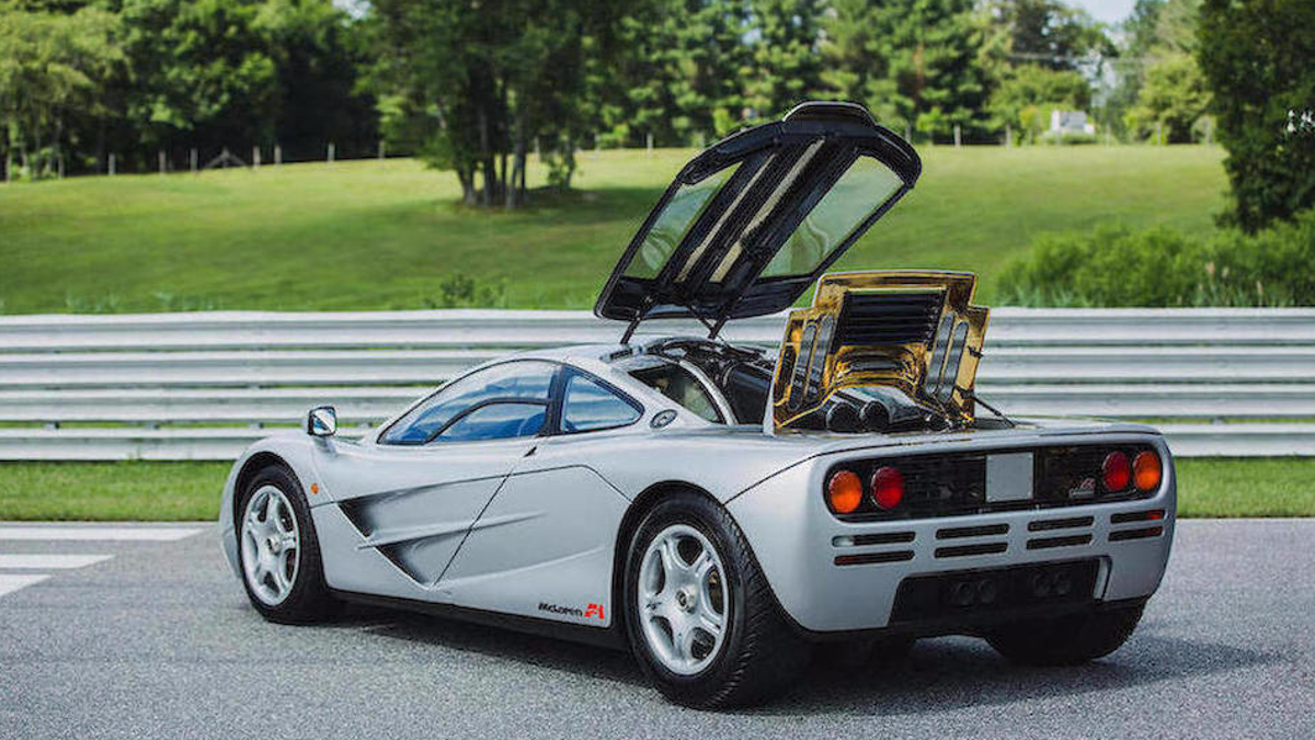 Here's What A Perfect McLaren F1 Is Worth Today