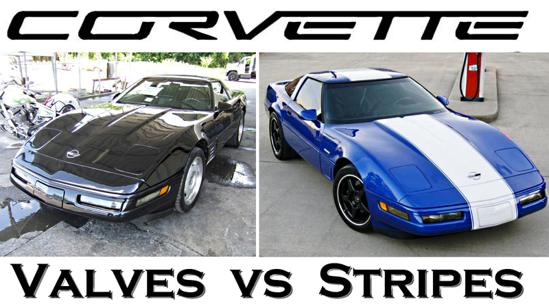 Ultimate C4 Corvette Cage Fight: 1991 ZR-1 Vs 1996 Grand Sport
