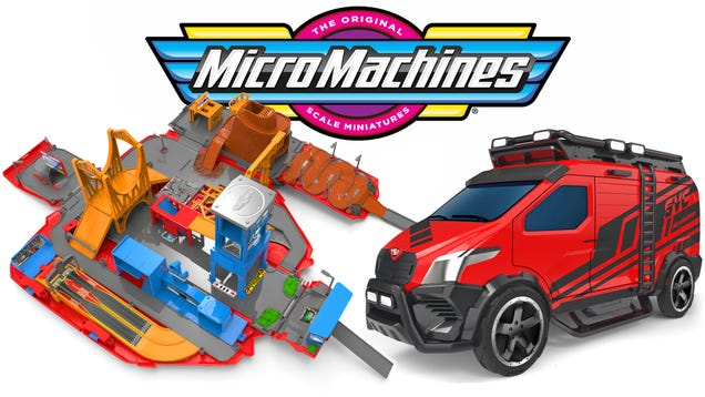 Micro Machines Are the Latest  80s Toy Line Back From the Dead