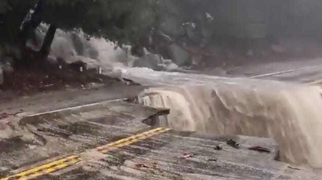 California Battles With Intense Flash Floods and Mudslides Amid Record-Breaking Rainfall
