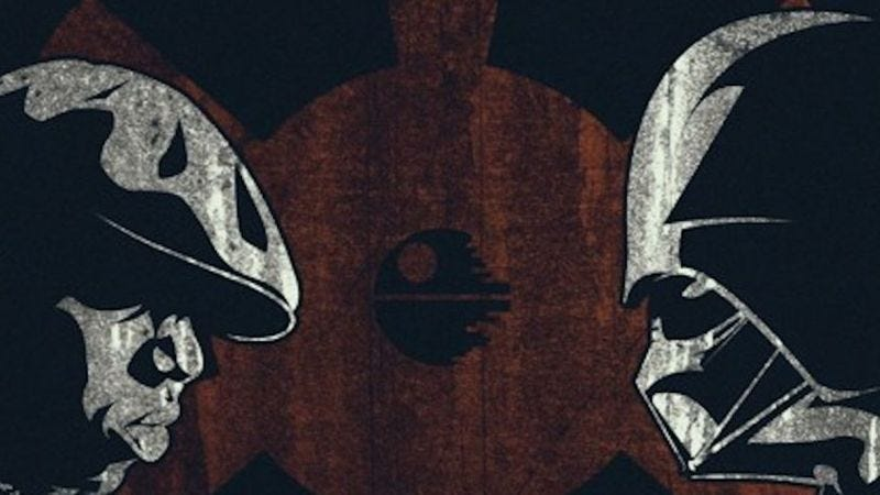 Illustration for article titled Life After Death Star mashes together The Notorious B.I.G., Star Wars to stunning effect