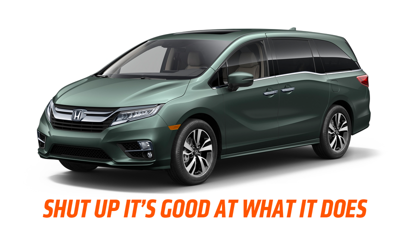 The 2018 Honda Odyssey Lets You Spy On Your Kids In Night Vision