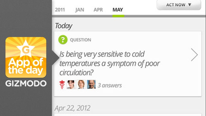 Illustration for article titled Health Tap: Use Your Smartphone To Ask a Doctor How Bad That Rash Is